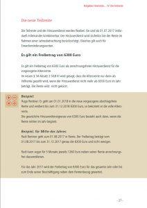 Ratgeber Flexirente: Ein-Blick in die Broschüre: Die neue Teilrente...