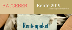 Der Ratgeber zum Rentenpaket 2019. Mit Infos und Tipps.