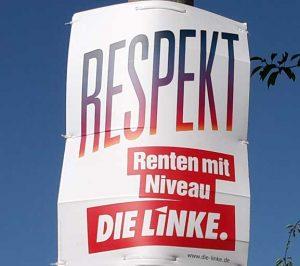 Das Rentenprogramm der Die Linke zur Bundestagswahl 2017. Was hält es für die Bürger bereit? rentenbescheid24.de macht den Faktencheck!