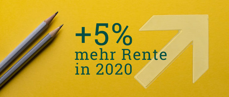Rentenerhöhung 2020